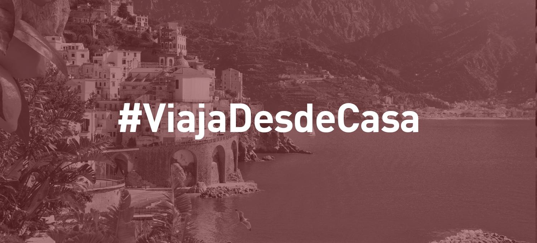 Únete al reto #ViajaDesdeCasa y descubre las sorpresas que tenemos preparadas