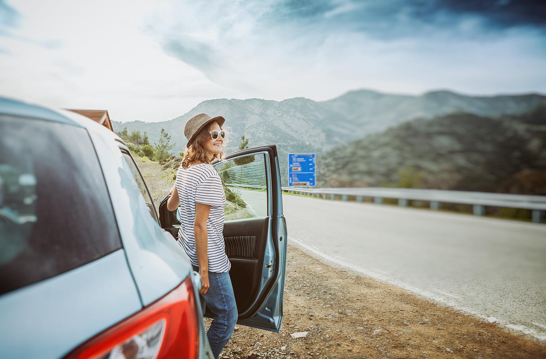 Viajando en coche