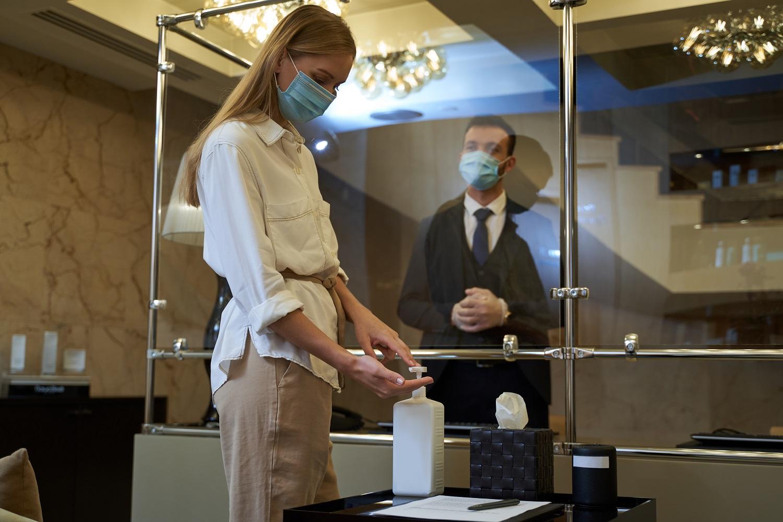 Protocolo COVID en el hotel
