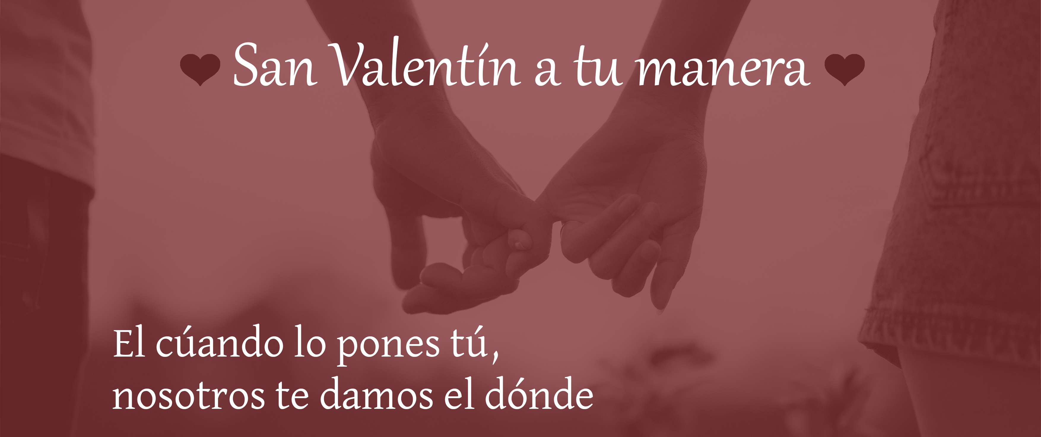 Escapadas románticas en San Valentín. ¿Dónde ir?