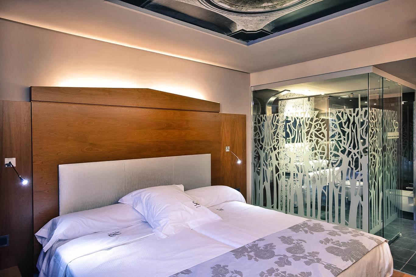 Habitación del Hotel Sancho Abarca
