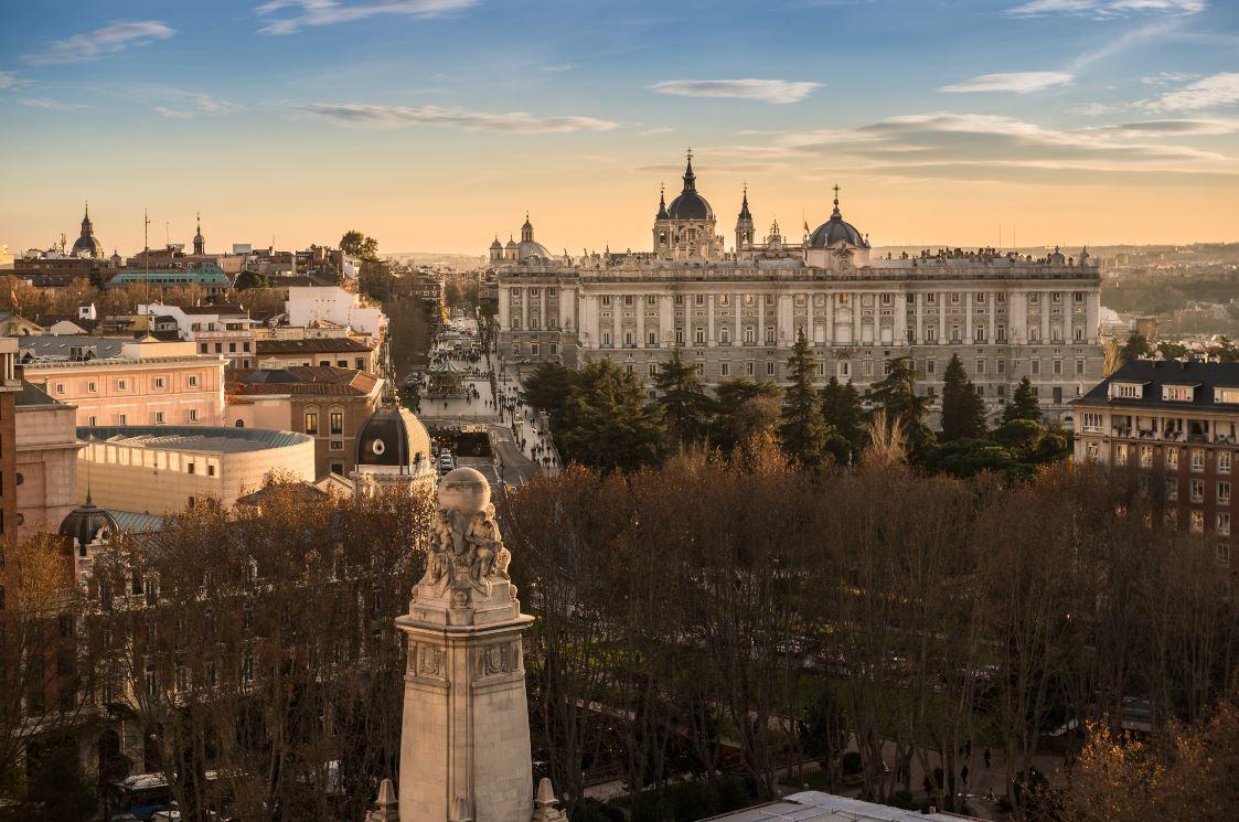 Vistas desde el Hotel Barceló Torre Madrid