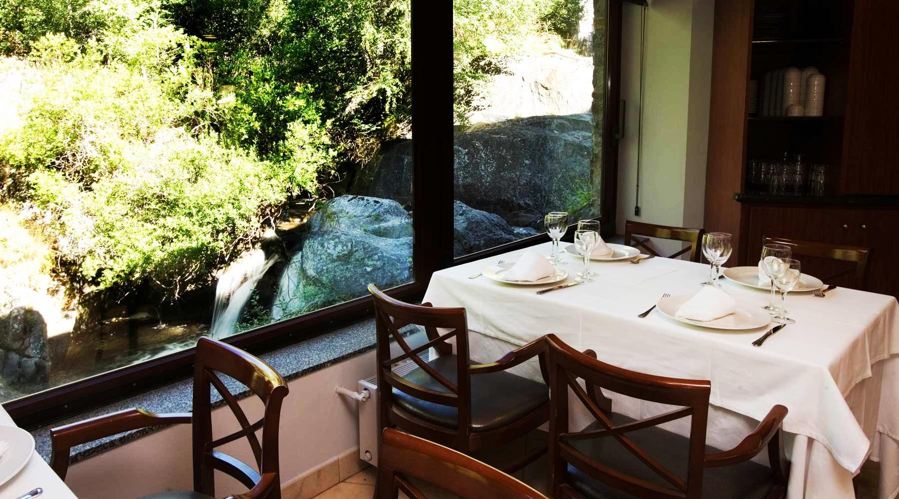 Restaurante del Hotel Niunit en Andorra