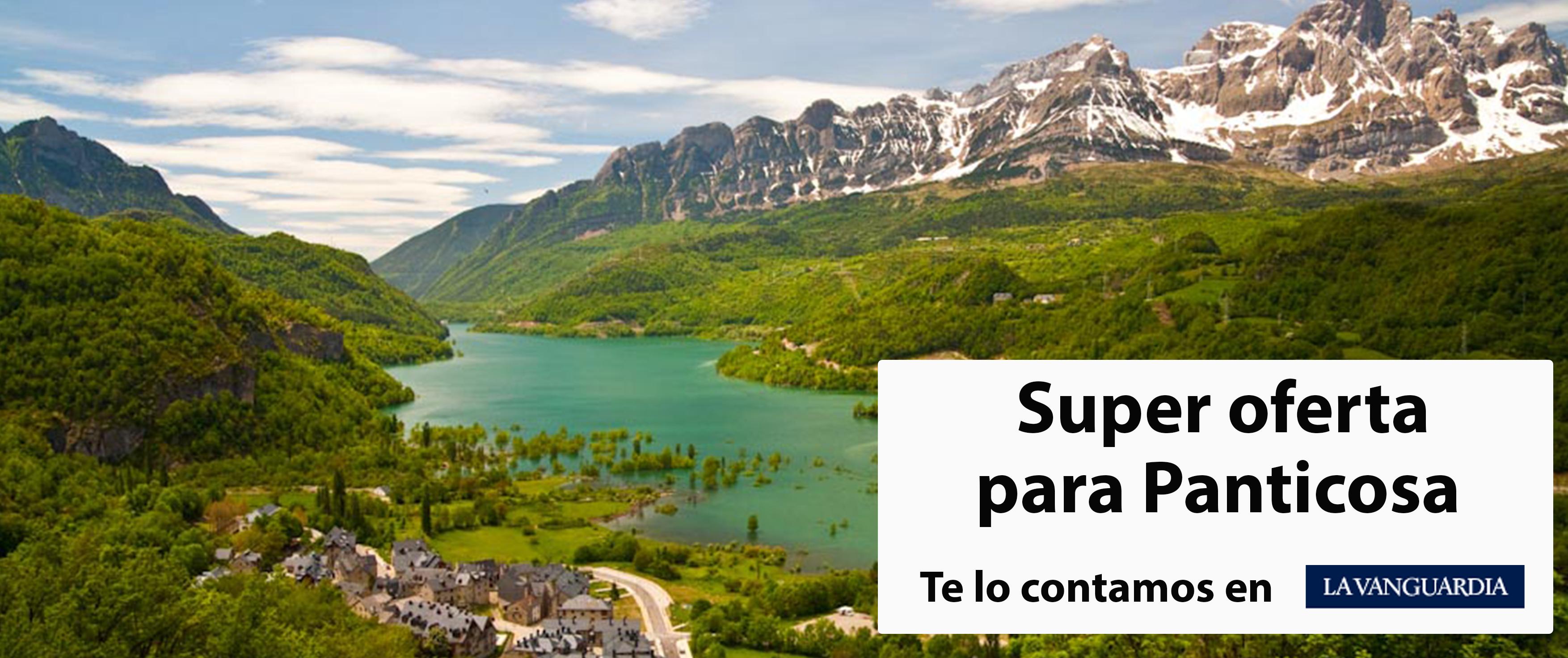 Salimos en La Vanguardia mostrando una super oferta para Panticosa