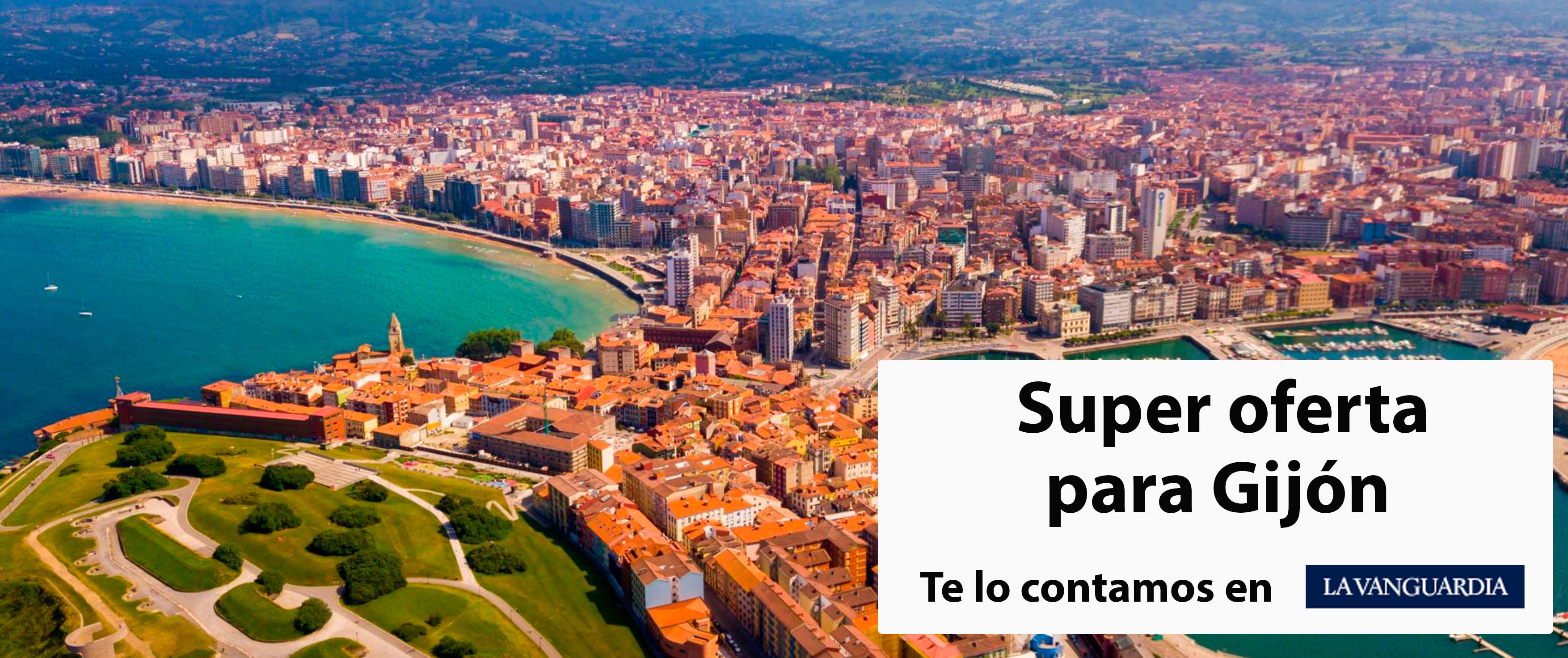 Aparecemos en La Vanguardia con un ofertón en Gijón