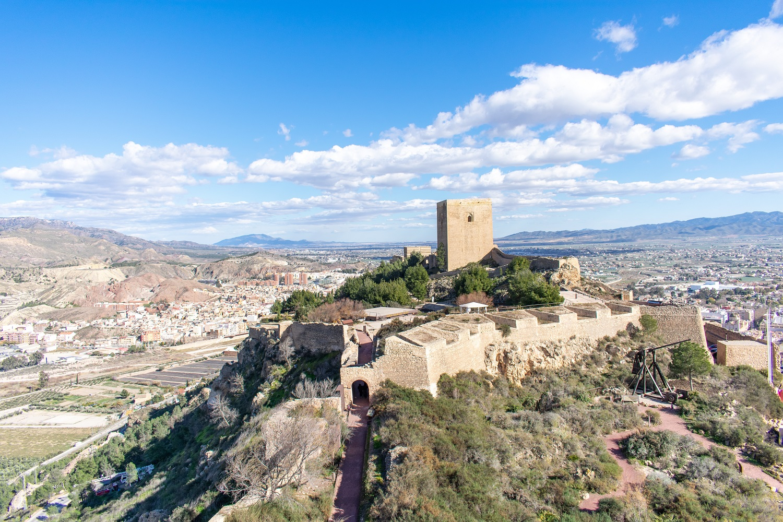 Castillo de Lorca en Murcia