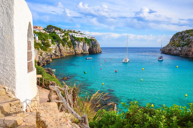 Cala en Porter en Menorca