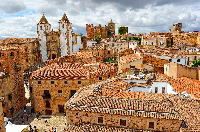 Ciudad vieja de Cáceres, Patrimonio de la Humanidad por bien cultural
