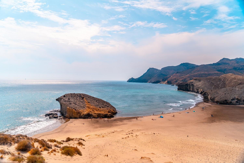 Playa de Mónsul, Almería