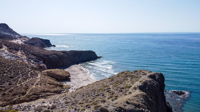 Formaciones rocosas Playa de Mónsul, Almería