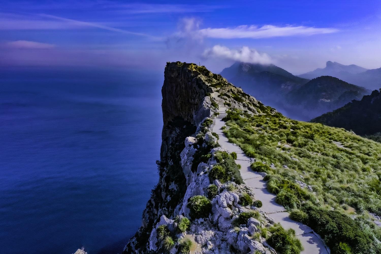 Cabo de Formentor en la Sierra de Tramuntana