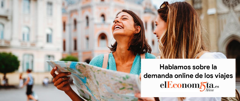 Nos entrevistan en El Economista sobre la demanda online en viajes