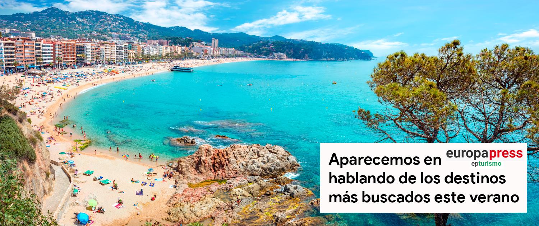 Salimos en Europapress Turismo hablando de los destinos más buscados del verano 2021