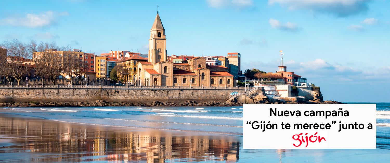 """Arrancamos la campaña """"Gijón te merece"""" junto a Turismo Gijón"""