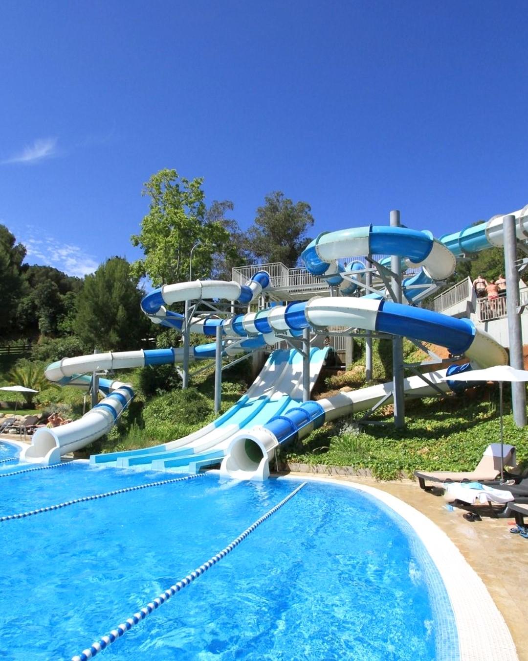 Toboganes del Hotel Gran Garbi & AquasPlash