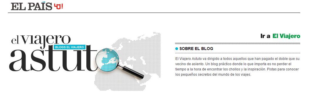 El Viajero Astuto: Blog de El Páis recomienda BuscoUnChollo.com