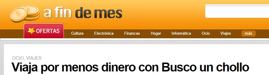 """""""Viaja por menos dinero con BuscoUnChollo"""" – Cristina Torres"""