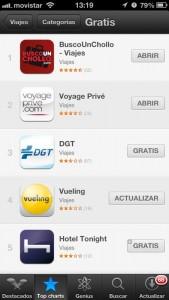 La App Móvil de BuscoUnChollo.com, líder de la App Store.
