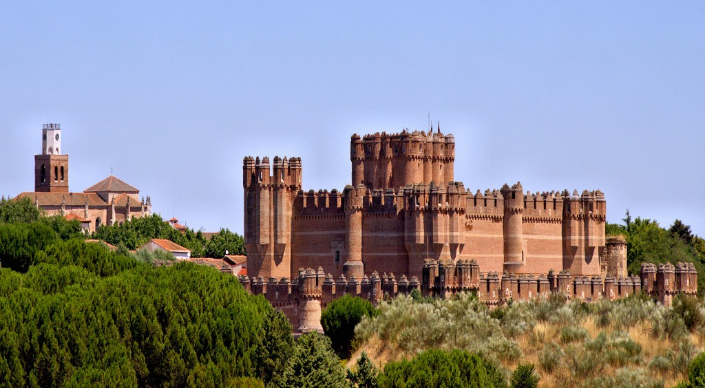 Castillo de Coca Segovia