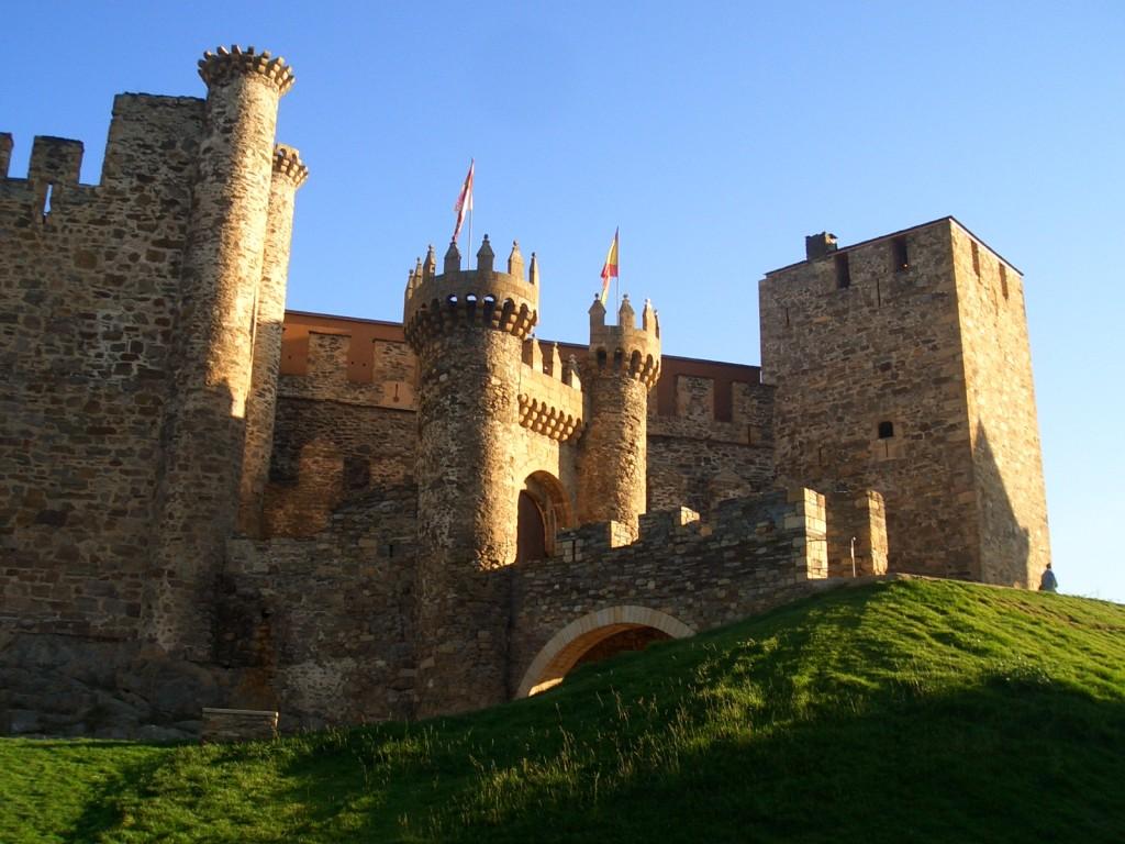 Castillos de los Templarios. Ponferrada.