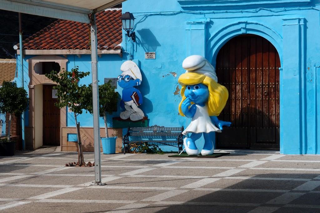 Júzcar_Pueblo_Azul_Pitufo
