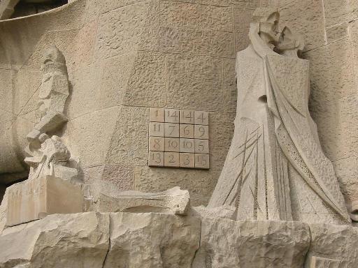 Cuadro Mágico Sagrada Familia