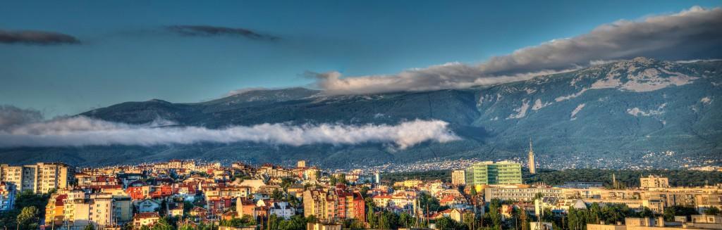 Panorámica de Sofia, Bulgaria