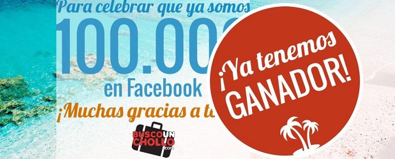¡Ya tenemos ganador del Sorteo del Viaje a Cerdeña por nuestros 100.000 Fans de Facebook!