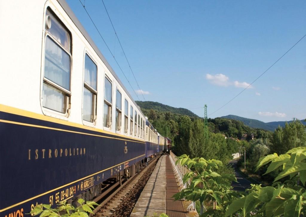 Tren por el Danubio desde Hungría hasta Turquia