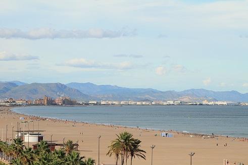 playa malvarrosa valencia