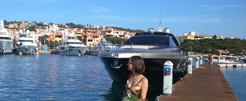 Los yates y el lujo están en Porto Cervo