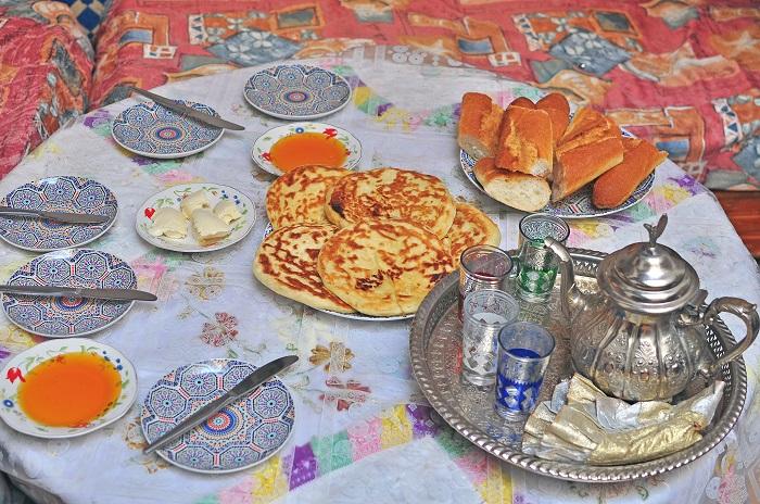 Desayuno Marruecos