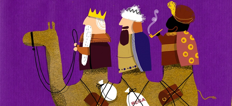 Los Reyes Magos llegan por tierra, mar, aire, ¡o nieve! Descúbrelo en este post