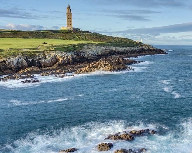 Torre Hercules en A Coruña