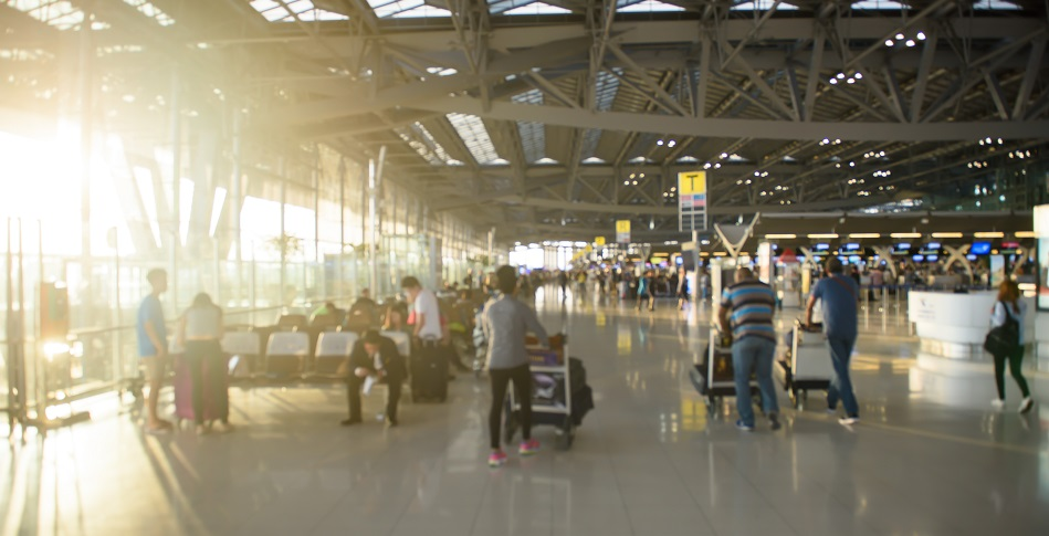 Aeropuerto grande