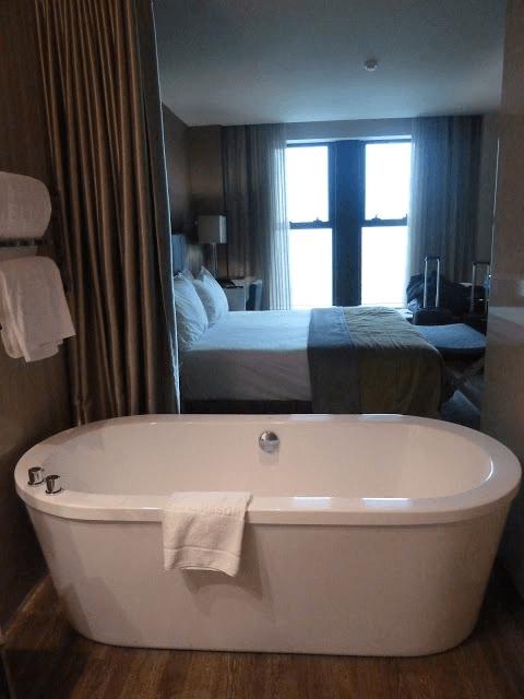 Baño en el Hotel en Braga