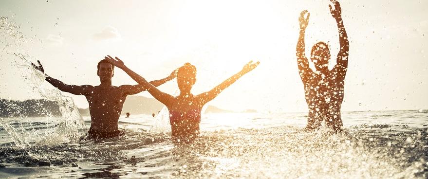 agua más caliente en verano