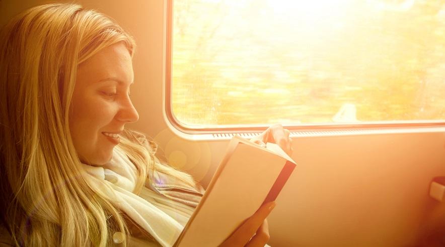 Leer en tren