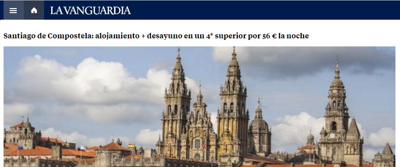 ¡La Vanguardia destaca nuestro chollo de Semana Santa!