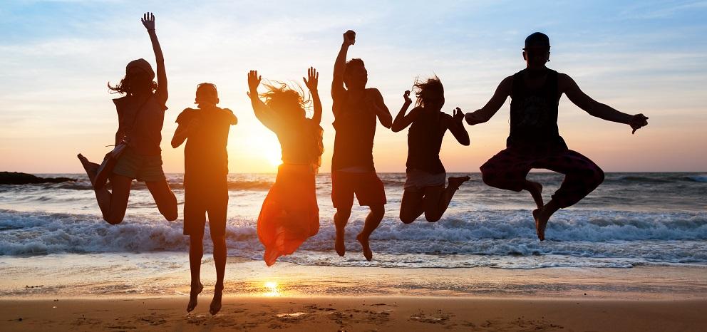 verano con amigos