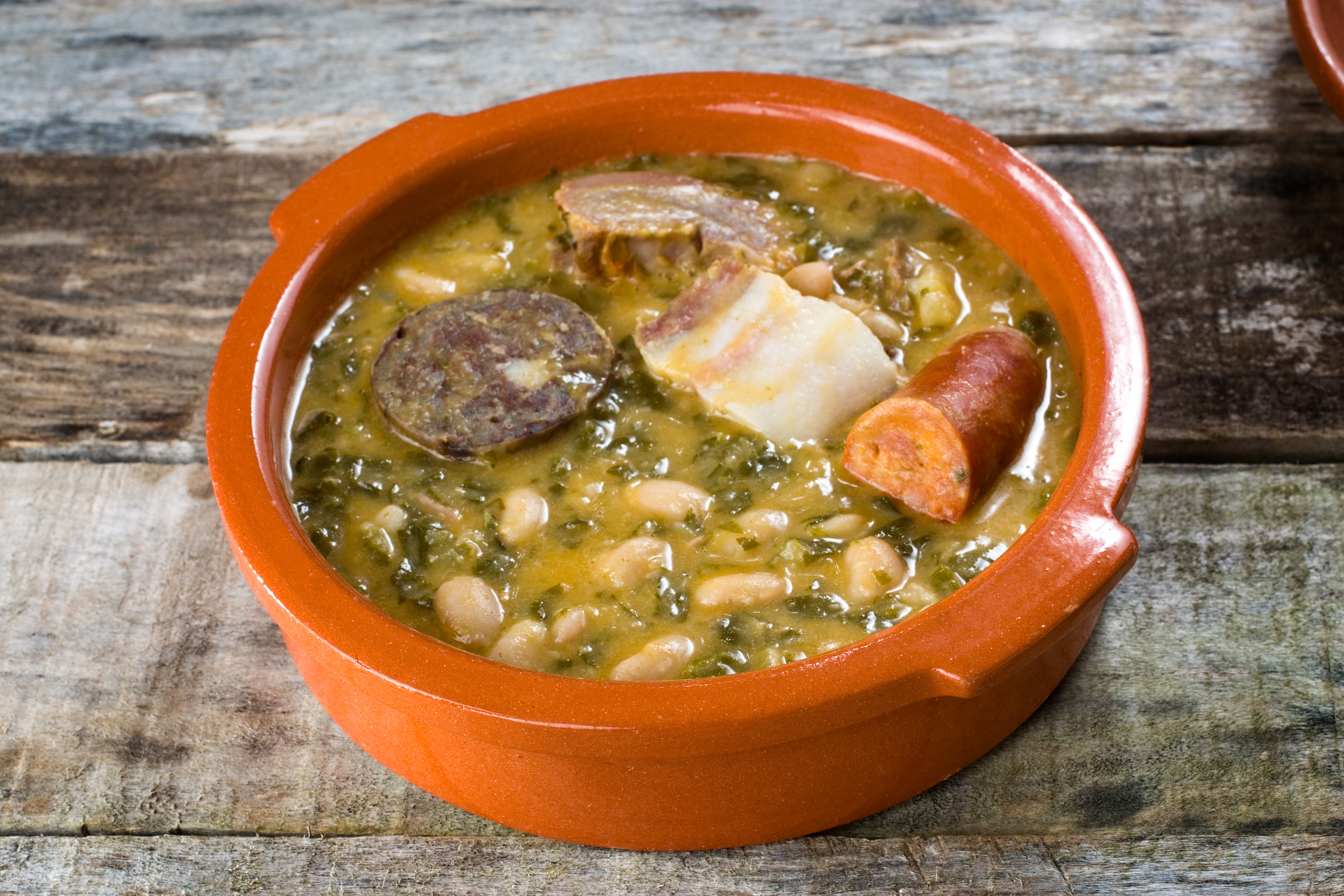 mountain stew. cocido montanes