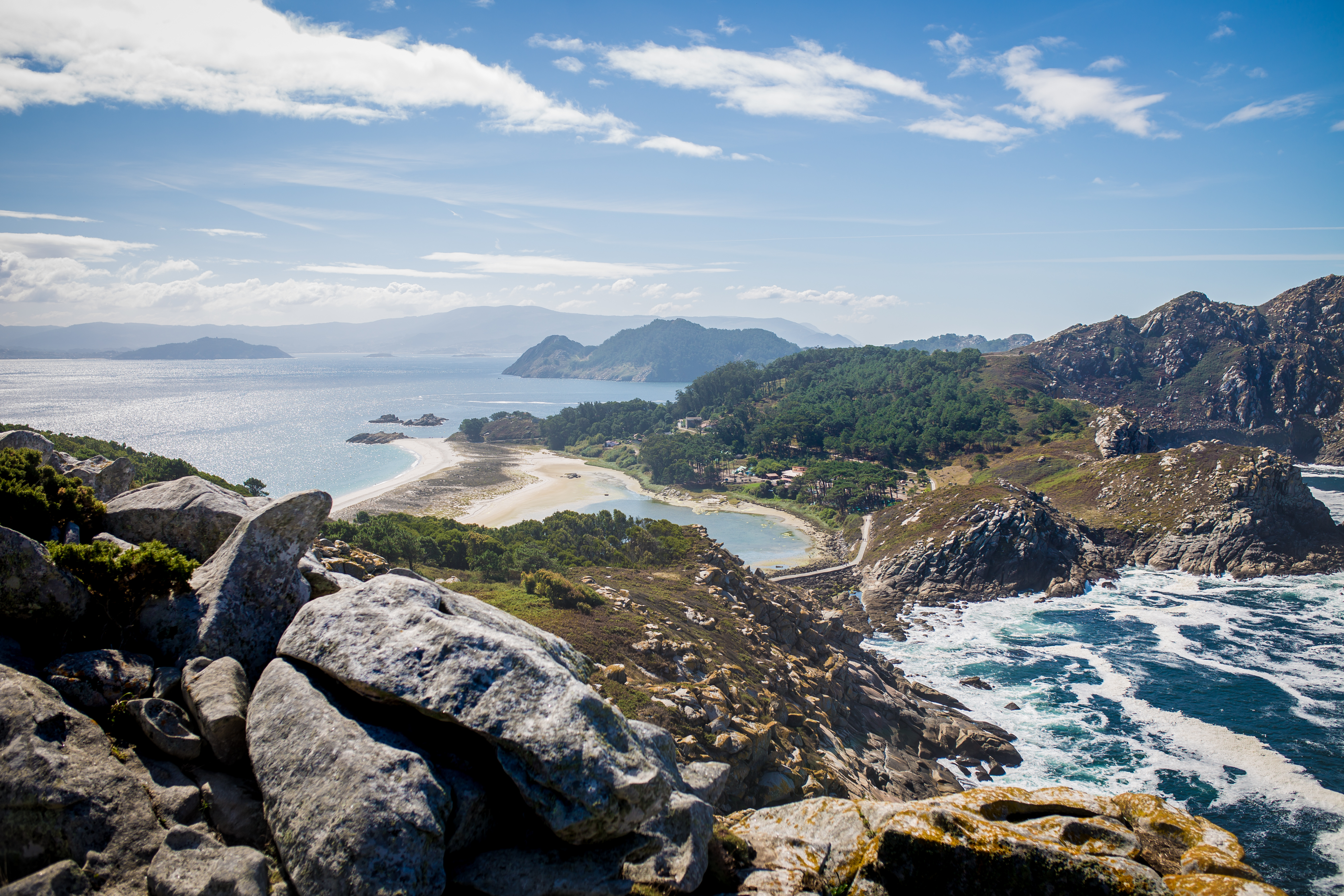 Mirador Alto Do Príncipe, Islas Cíes, Galicia