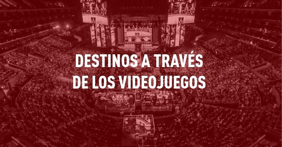 ¿Eres gamer? Destinos españoles en videojuegos