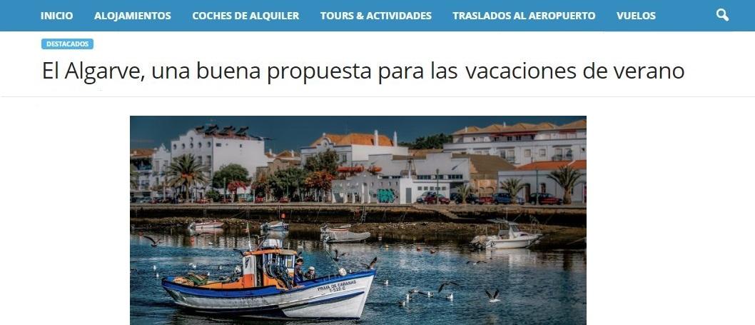 Memarchodeviaje.com recomienda nuestro portal de viajes para descubrir Algarve