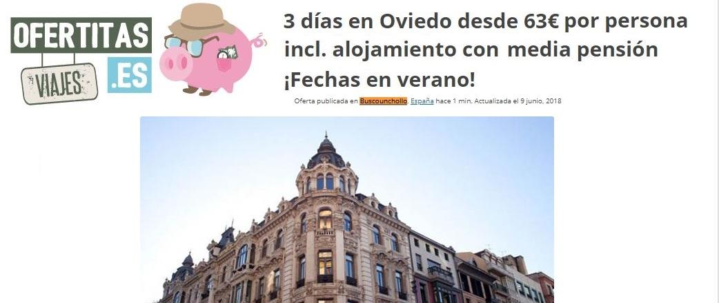 """""""Conoce Asturias y homenajéate con un viaje corto"""""""
