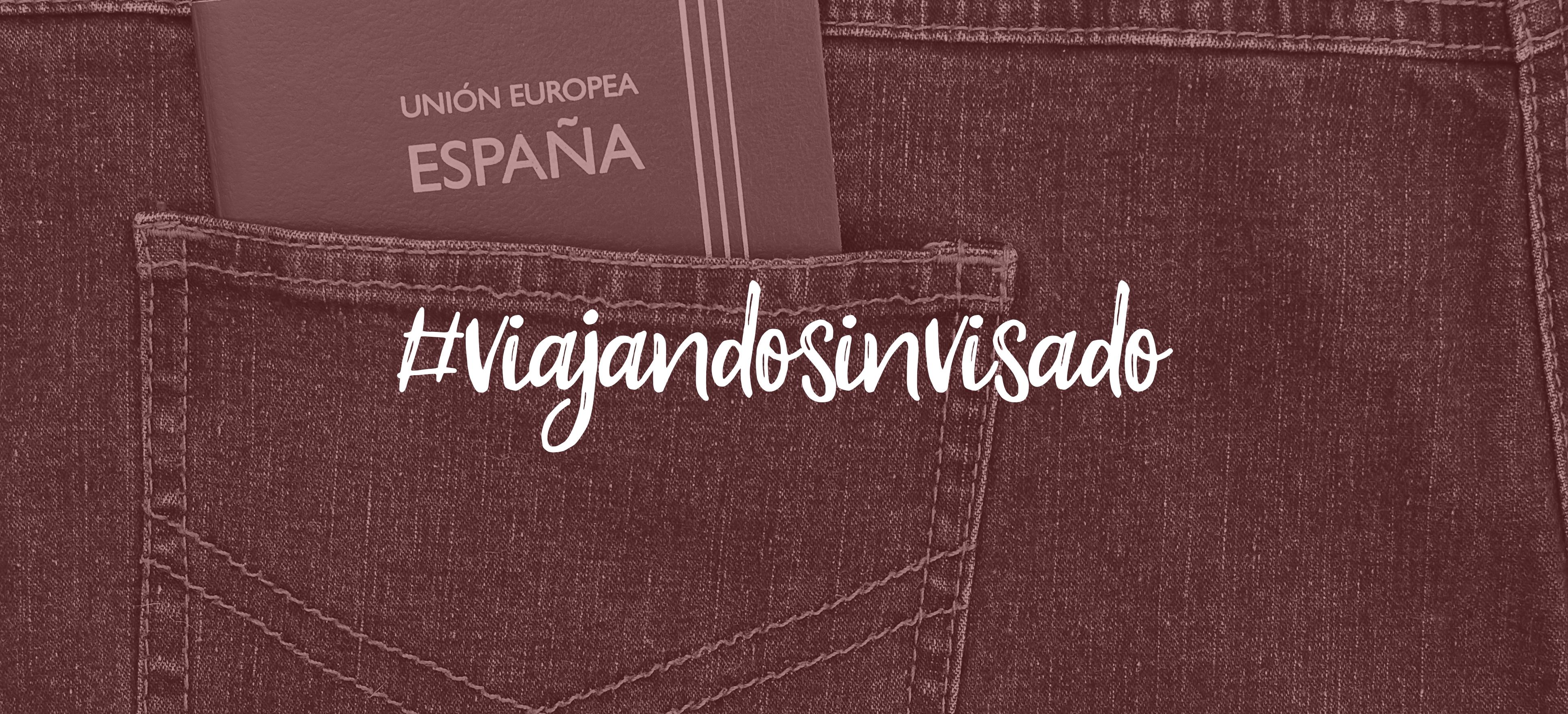 ¿Dónde puedo viajar sin visado y con mi pasaporte español?