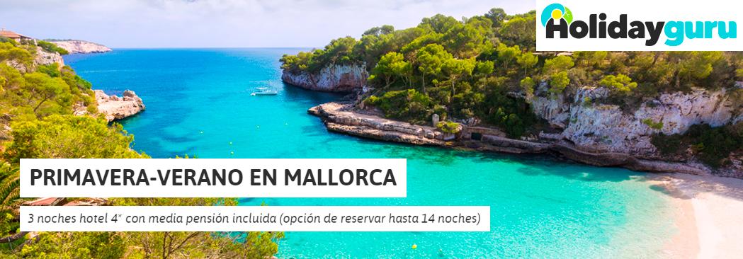 HolidayGuru destaca nuestro chollo en Mallorca para verano ¿Vas a perdértelo?