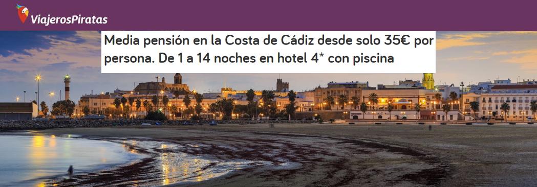 ¿Has oído hablar de nuestro chollo en la Costa de Cádiz por 35€? ¡Viajeros Piratas sí!