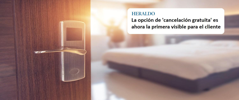 Salimos en el Heraldo explicando que los precios de los hoteles pueden tender a subir a última hora