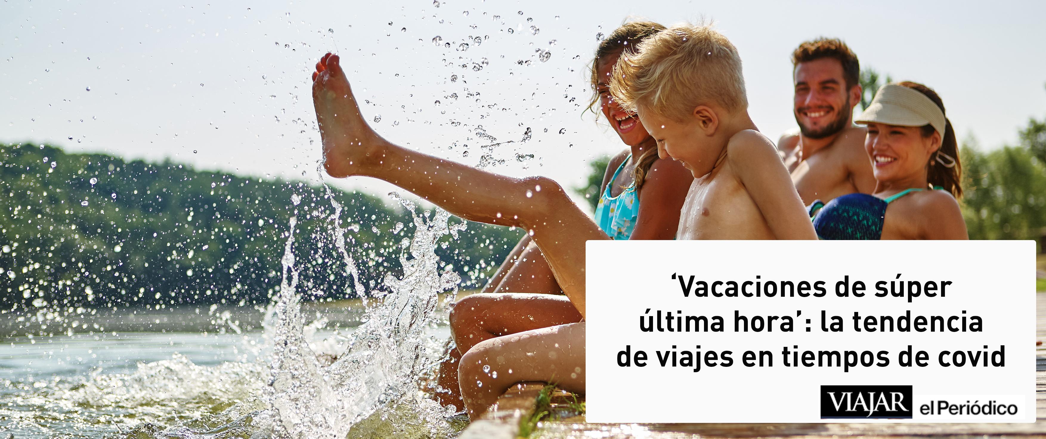 """Salimos en Viajar en El Periódico explicando la nueva tendencia: """"Vacaciones last minute"""""""